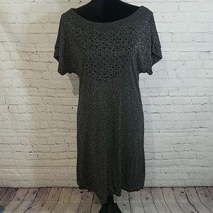 MAXandCLEO large sparkle stretch dress, $165